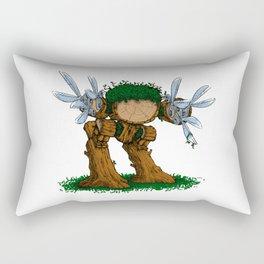 Ed wood scissorhands Rectangular Pillow