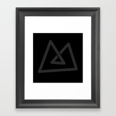 M like M Framed Art Print