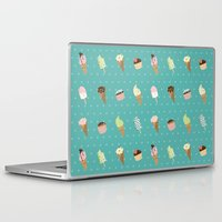 dessert Laptop & iPad Skins featuring Dessert by Olya Yang