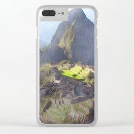 Machu Picchu Clear iPhone Case