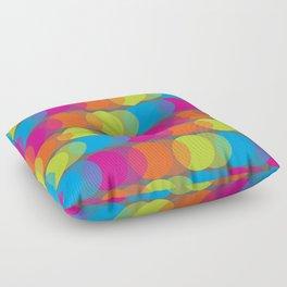 Neon Glow Floor Pillow