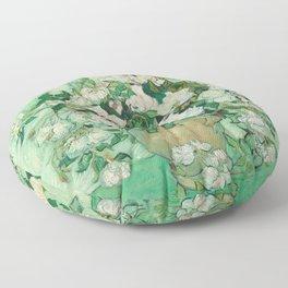 Roses, Vincent Van Gogh Floor Pillow
