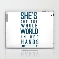 She Laptop & iPad Skin