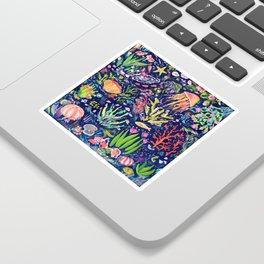 Ocean Blue Sticker