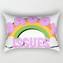 Daddy Issues Rectangular Pillow