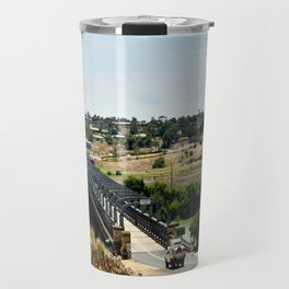 Tailem Bend Bridge over the Murray River Travel Mug