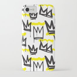 Graffiti illustration 04 iPhone Case