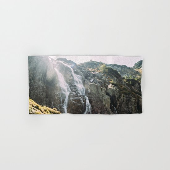 Waterfall In Sunlight Hand & Bath Towel