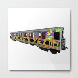 subway art Metal Print