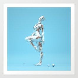 Stride Art Print