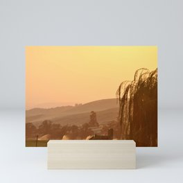 SUNSET OVER EASTERN OREGON Mini Art Print