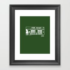 The Shop Framed Art Print