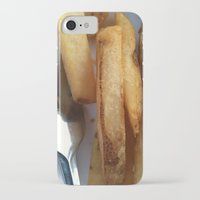 fries iPhone & iPod Cases featuring Fries by Wild World Of Food