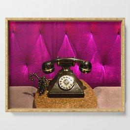 Vintage, Elegant French Telephone Serving Tray