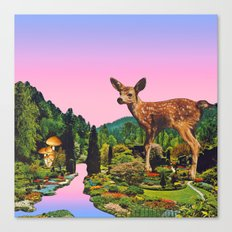 Giant deer Canvas Print
