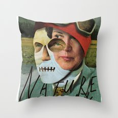 Nature Freak Throw Pillow