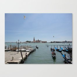 A morning in Venice Canvas Print