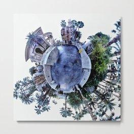360 3D Panorama Metal Print