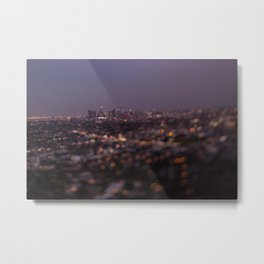 Angel City Lights (L.A. at Night) Metal Print