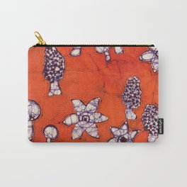 mushroom batik Carry-All Pouch