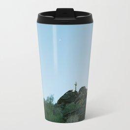 Arizona Desert Moon Travel Mug