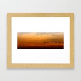 Soul in the wind Framed Art Print