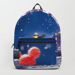 Winter fairy tale Backpack
