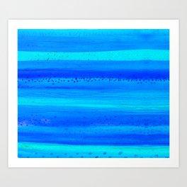 Blue Sky Blue Waters Art Print