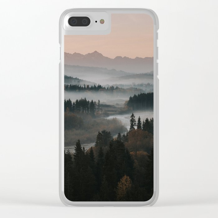 Good Morning! - Landscape and Nature Photography Clear iPhone Case