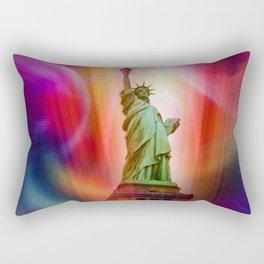 New York NYC - Statue of Liberty 2 Rectangular Pillow