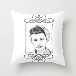 Born in the 20's Throw Pillow