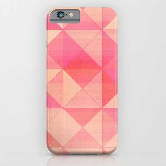 Pink : Pattern iPhone & iPod Case