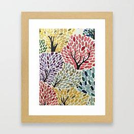 Das Baum Framed Art Print