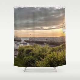 Lanes Cove Sunset 5-20-18 Shower Curtain