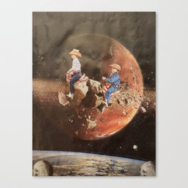 """Giddy Up"" Canvas Print"
