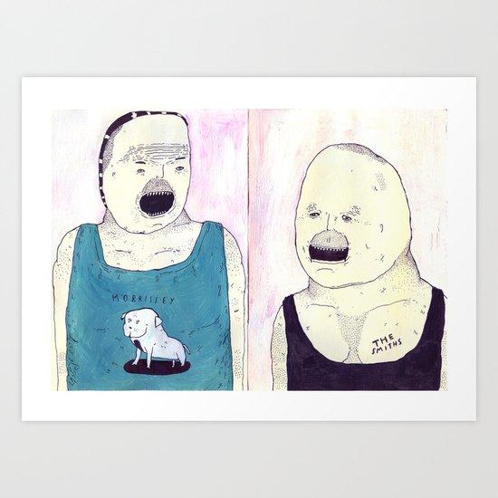 MY DOG MORRISSEY Art Print