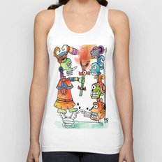 Witchdoctor, inspired by Frida Kahlo Unisex Tank Top