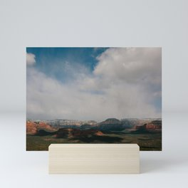 Rain Cloud-Covered Sedona Mini Art Print