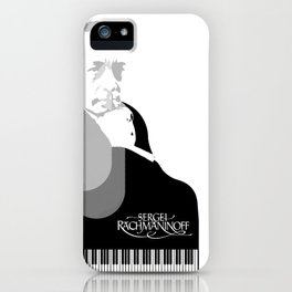 Sergei Rachmaninoff iPhone Case