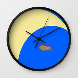 Flying Higher and Higher in May - shoes stories Wall Clock