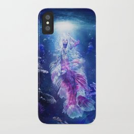 The Mermaid's Encounter iPhone Case