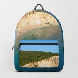 Beautiful Blue Greek Ocean Backpack