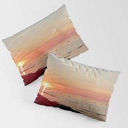Kayak and the Sunset Pillow Sham