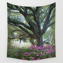Oaks and Azaleas Wall Tapestry