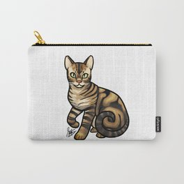 Bengal Cat Carry-All Pouch