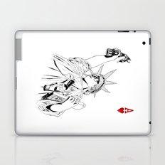 freedom...black & white Laptop & iPad Skin