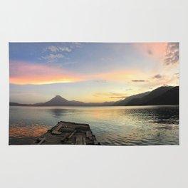 Lake Atitlan Sunsets Rug