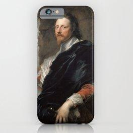 "Sir Anthony van Dyck ""Nicolas Lanier"" iPhone Case"