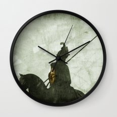 Horrified by the Sun Wall Clock