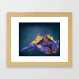 I'd Rather Be SHINY! Framed Art Print